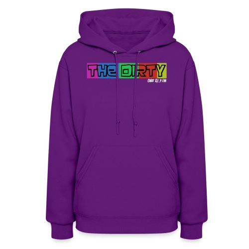 The Dirty FM transparent - Women's Hoodie