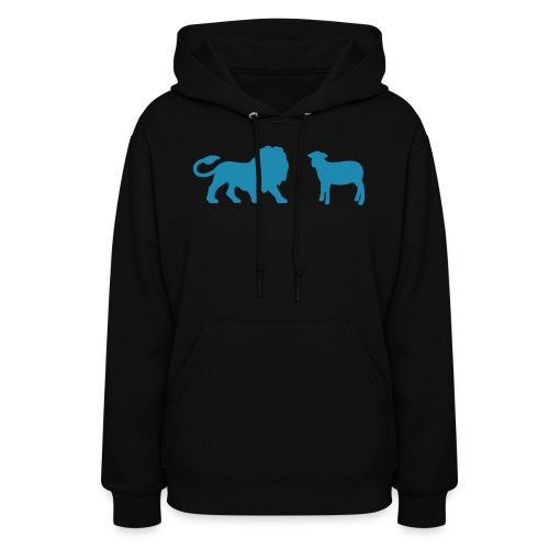 Lion and the Lamb - Women's Hoodie