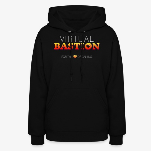 Virtual Bastion: For the Love of Gaming - Women's Hoodie