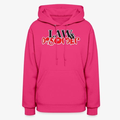 Law DISORDER Logo - Women's Hoodie