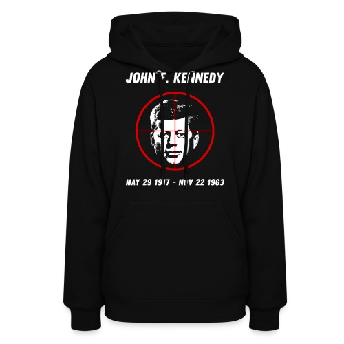 John F. Kennedy Assassination - Women's Hoodie