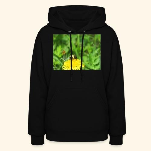 Dandelion Bee - Women's Hoodie