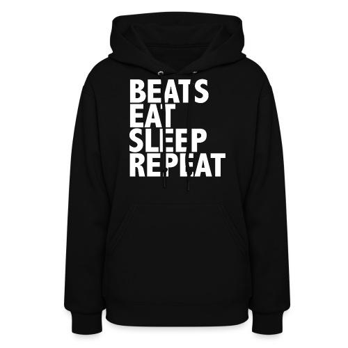 beatsrepeat png - Women's Hoodie