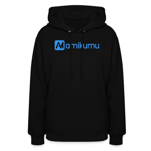 Amikumu Logo Blue - Women's Hoodie