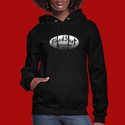BloodShot Airbrushing Logo - Women's Hoodie