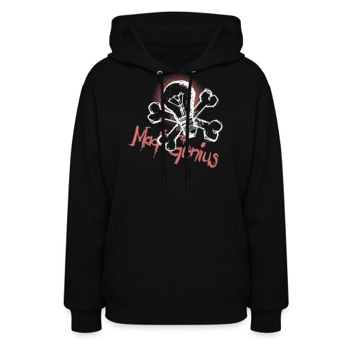 Mad Genius - On Dark - Women's Hoodie