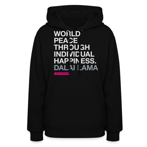 World peace MEDIUM - Women's Hoodie