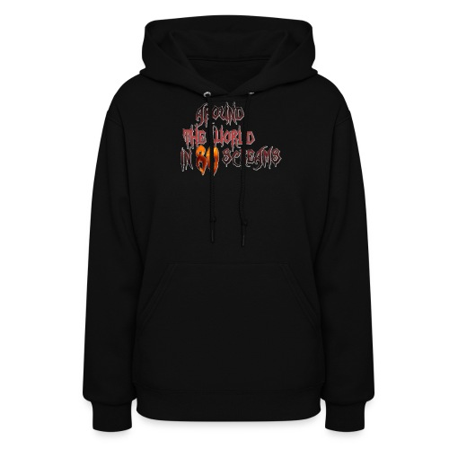 Around The World in 80 Screams - Women's Hoodie
