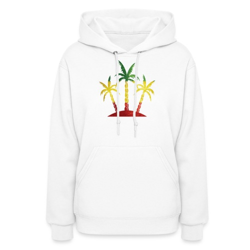 Palm Tree Reggae - Women's Hoodie