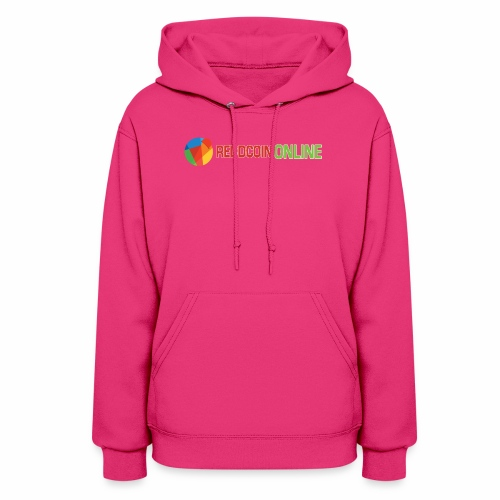 Reddcoin online logo red and green - Women's Hoodie