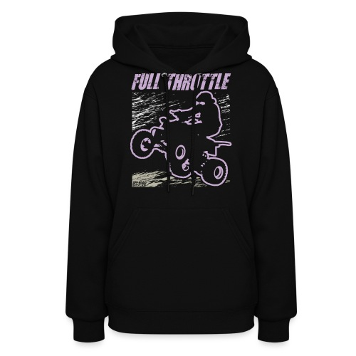 ATV Quad Full Throttle - Women's Hoodie
