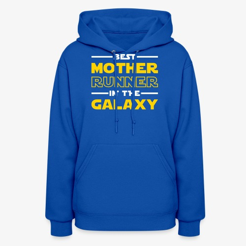 Best Mother Runner In The Galaxy - Women's Hoodie