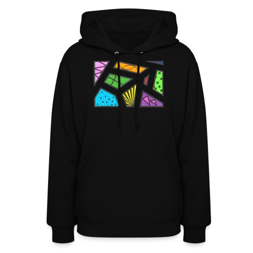geometric artwork 1 - Women's Hoodie