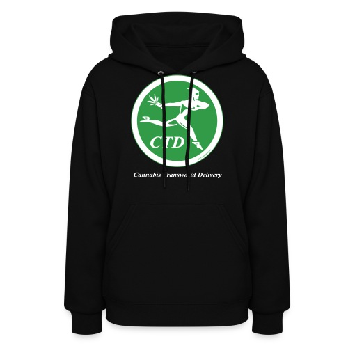 Cannabis Transworld Delivery - Green-White - Women's Hoodie