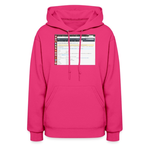 Screenshot from 2016 09 07 02 14 53 - Women's Hoodie