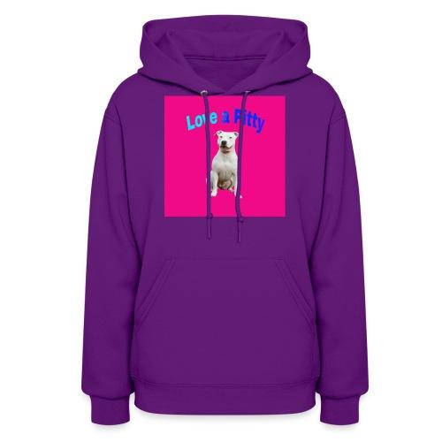 Pink Pit Bull - Women's Hoodie
