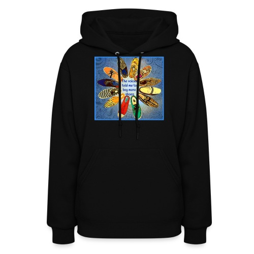 more shoes 1 2 - Women's Hoodie