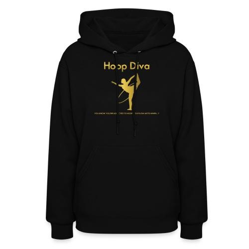 Hoop Diva 2 - Women's Hoodie