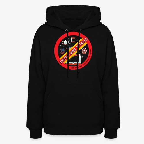 unFeatured Articles Logo - Women's Hoodie