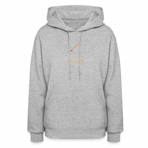 Keep it Reel (Orange) - Women's Hoodie