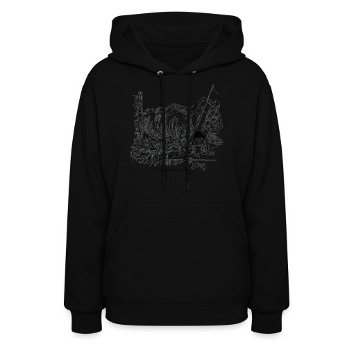 PonyFail Thelwell Cartoon - Women's Hoodie