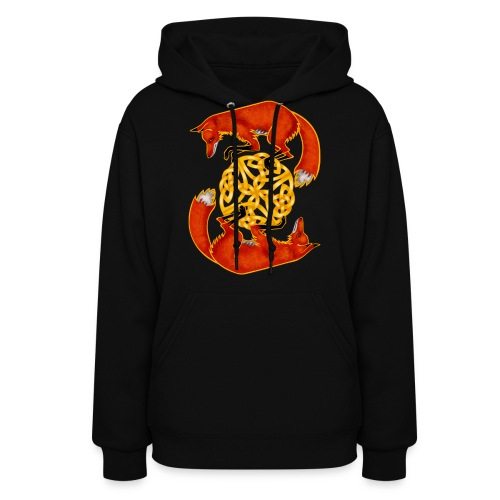 Circling Foxes - Women's Hoodie