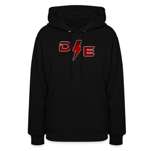 D E png - Women's Hoodie