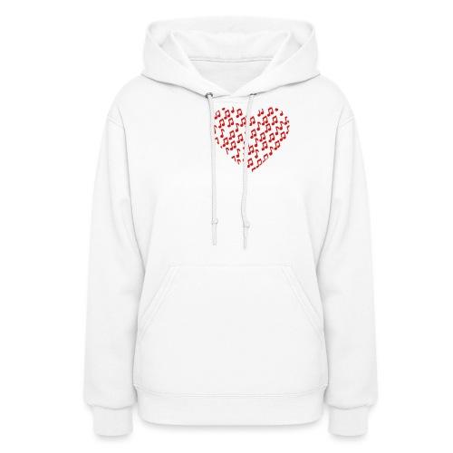 heart np - Women's Hoodie