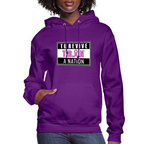 TRAN Ribbon Logo 2 - Women's Hoodie