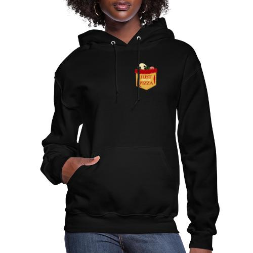 Just feed me pizza - Women's Hoodie