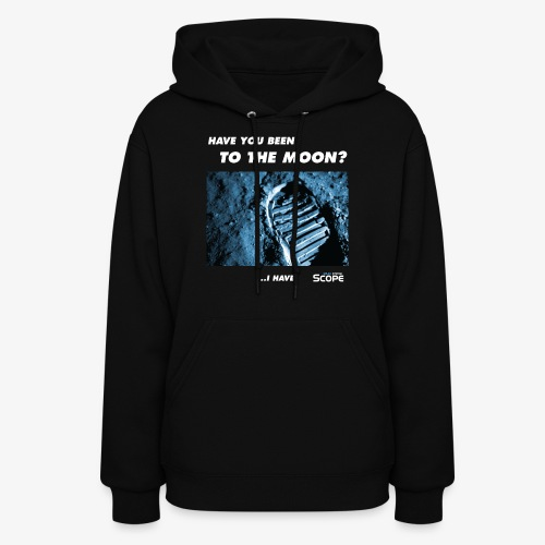 Solar System Scope : Have you been to the Moon - Women's Hoodie