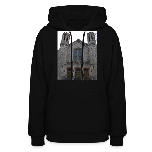 Gothic church frontage - Women's Hoodie