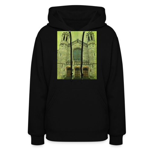 Green gothic cathedral - Women's Hoodie