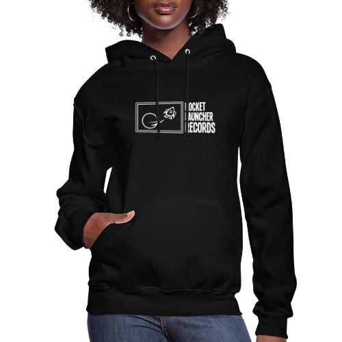 White Horizontal Logo - Women's Hoodie
