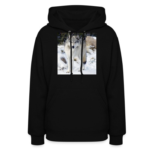 Canis lupus occidentalis - Women's Hoodie