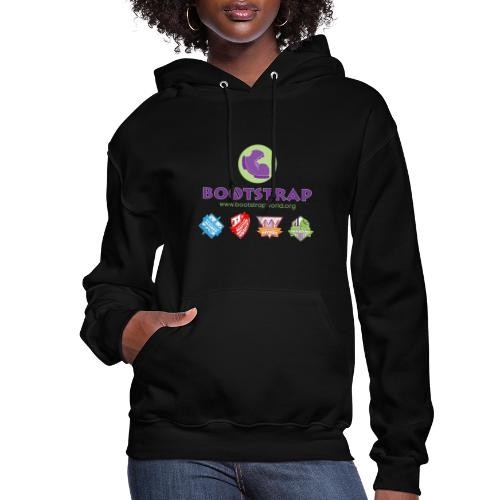 BOOTSTRAP Algebra Reactive Physics Data Science - Women's Hoodie