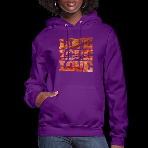 BACON LOVE - Women's Hoodie