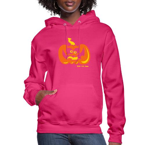 Smiling Pumpkin - Women's Hoodie