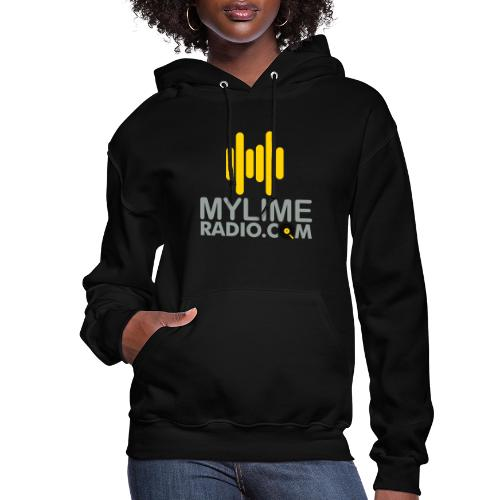 MyLimeRadio Main LOGO (Tri Colour) - Women's Hoodie