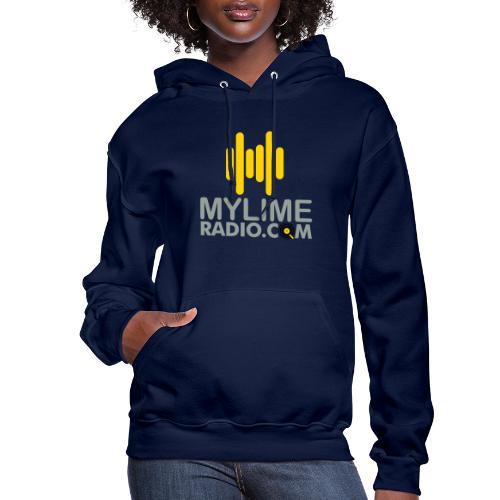 MyLimeRadio Main LOGO (Tri Colour) - Women's Hoodie