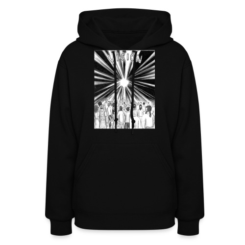 Black_and_White_Vision - Women's Hoodie