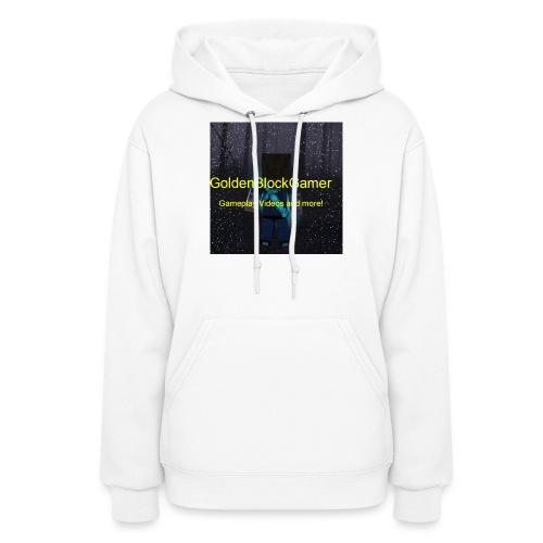 GoldenBlockGamer Tshirt - Women's Hoodie