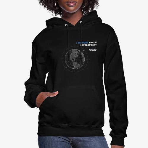 Solar System Scope : I Support Space Development - Women's Hoodie