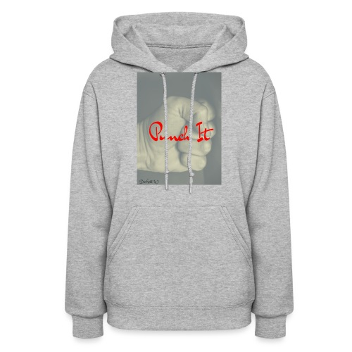 Punch it by Duchess W - Women's Hoodie