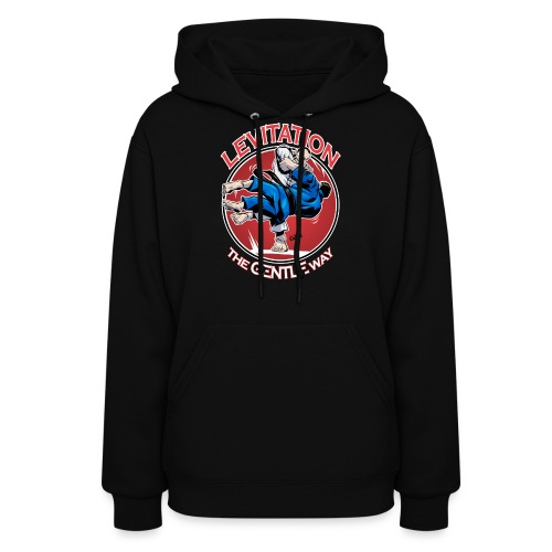 Judo Levitation for dark shirt - Women's Hoodie