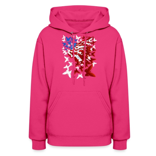 The Butterfly Flag - Women's Hoodie
