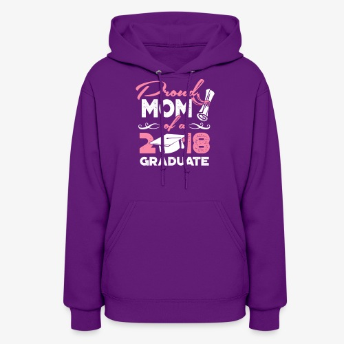 Proud Mom Graduate Mother Gift Shirt - Women's Hoodie