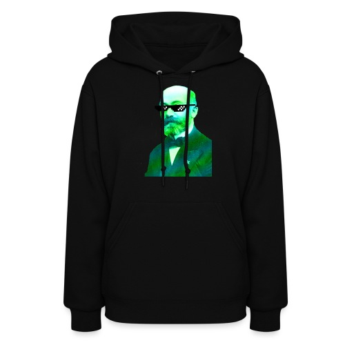 Green and Blue Zamenhof - Women's Hoodie