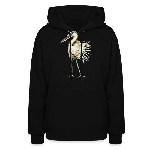 Great Blue Heron - Women's Hoodie