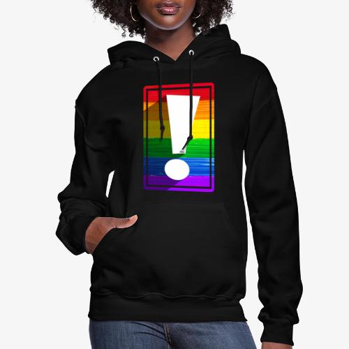 LGBTQ Pride Exclamation Point - Women's Hoodie